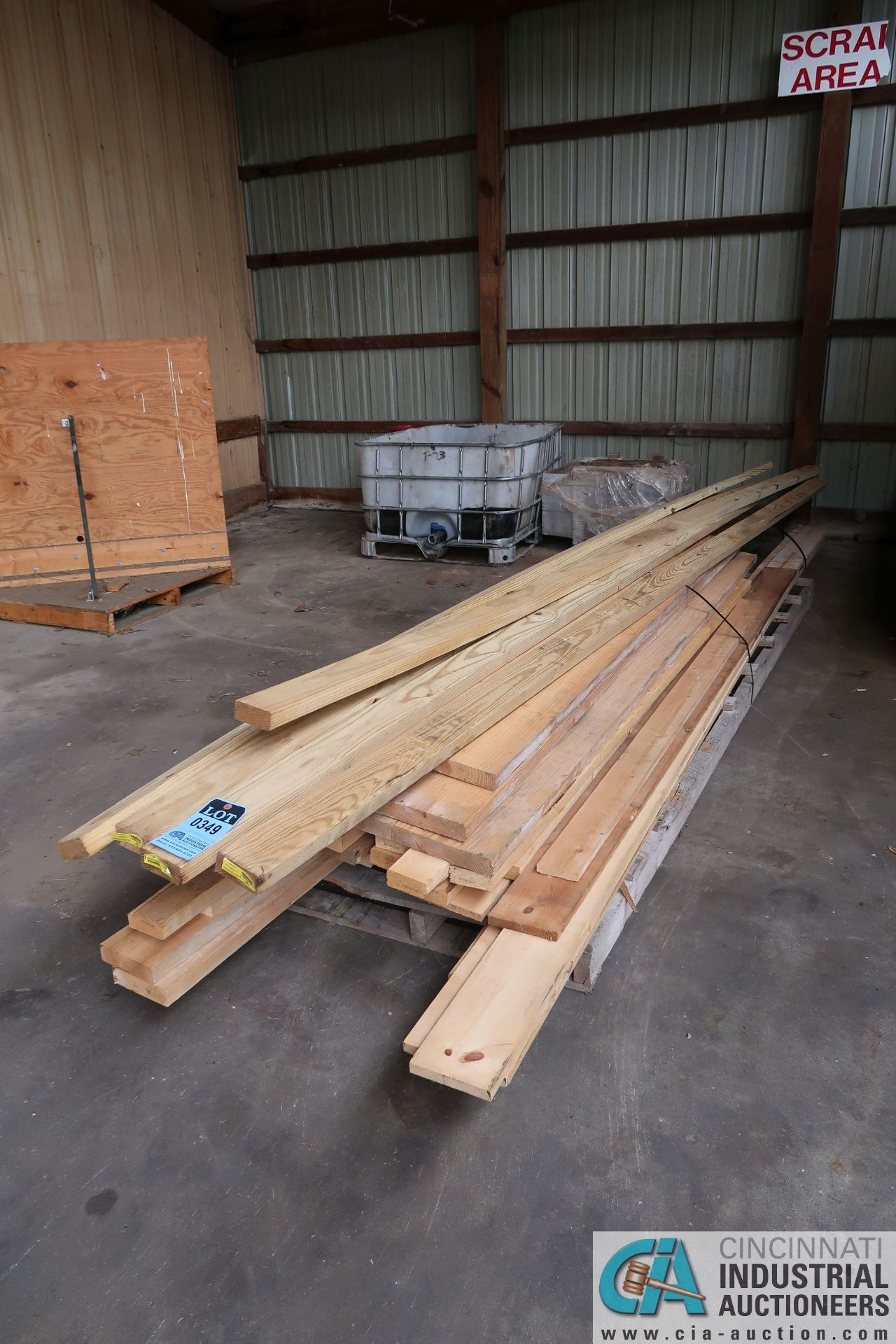 (LOT) MISCELLANEOUS SIZE AND LENGTH CONSTRUCTION LUMBER
