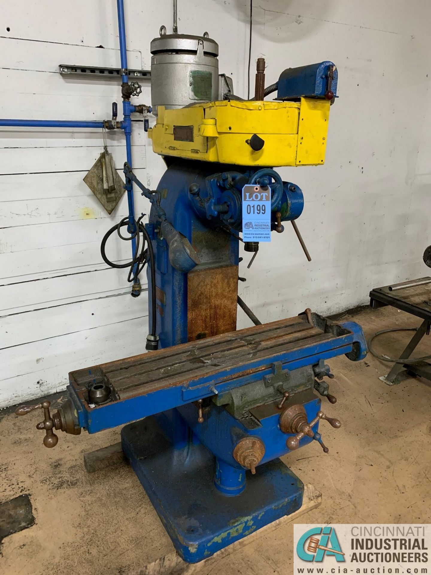 """INDEX MILL WITH 9"""" X 32"""" TABLE"""