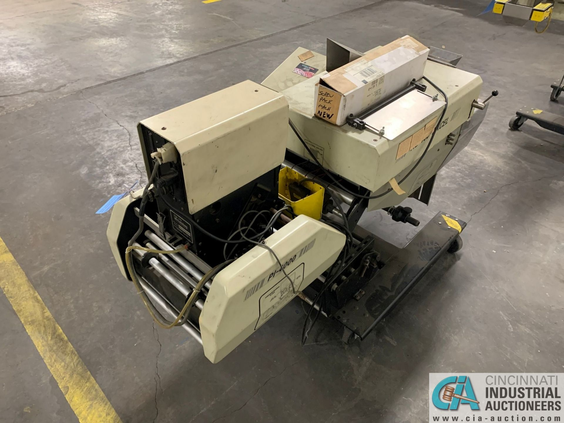 AUTOBAG MODEL HS-100 EXCEL POLY BAGGING MACHINE; S/N 2072896019, WITH P1-4000 AUTO LABEL MACHINE ( - Image 7 of 7