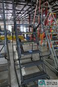 SIX STEP BALLYMORE PORTABLE WAREHOUSE LADDER