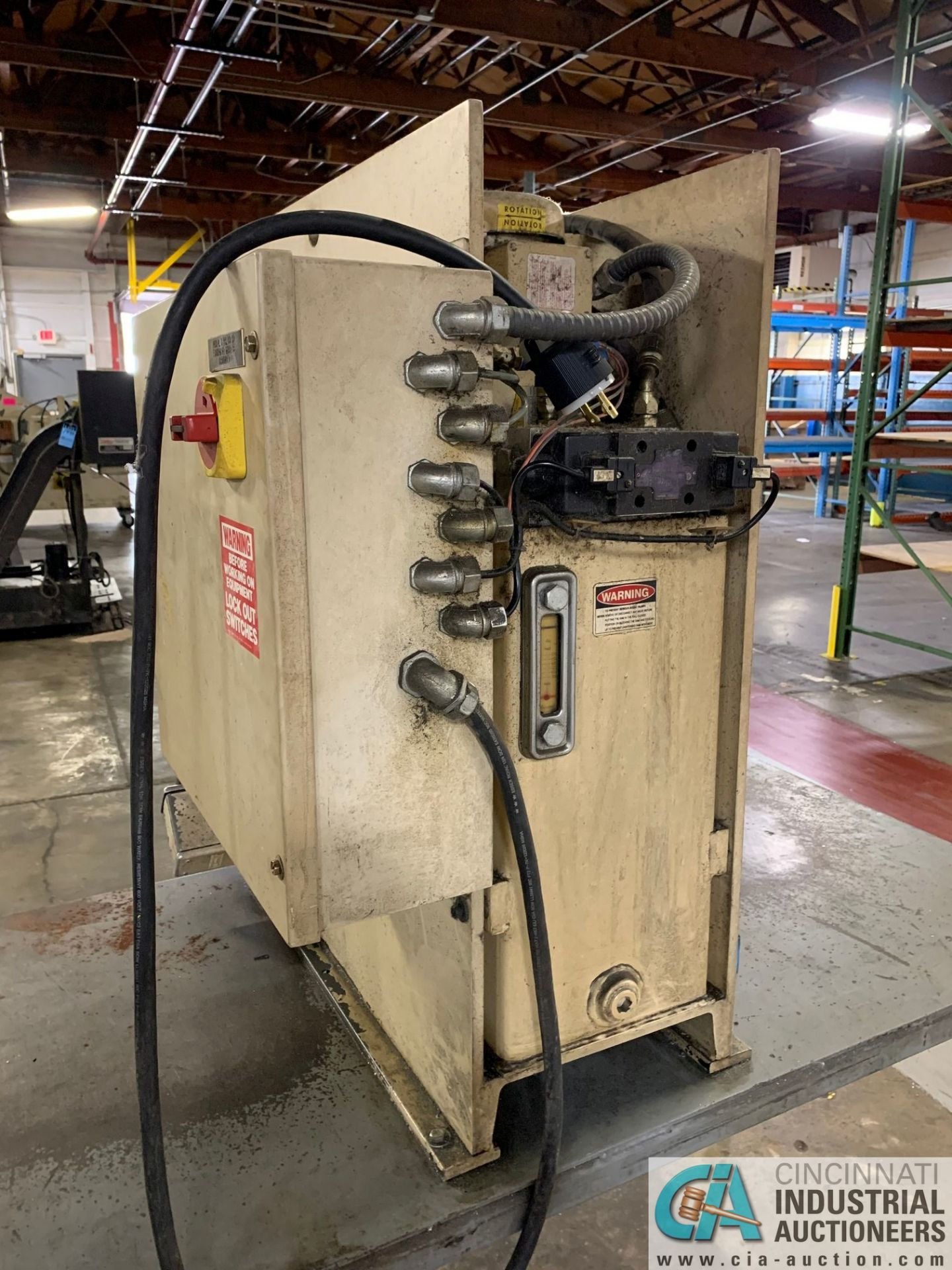 7 TON GREENERD MODEL HPB-7 HYDRAULIC PRESS; S/N OOT5953, WITH TABLE (NEW 2000) - Image 5 of 6