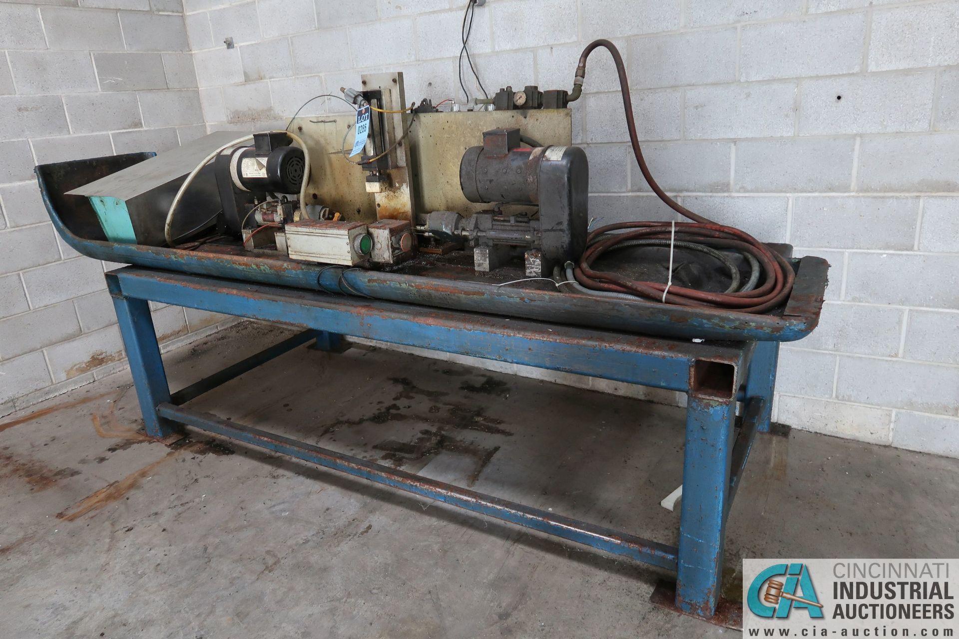 CUSTOM BUILT HORIZONTAL AUTO DRILL MACHINE - Image 4 of 4