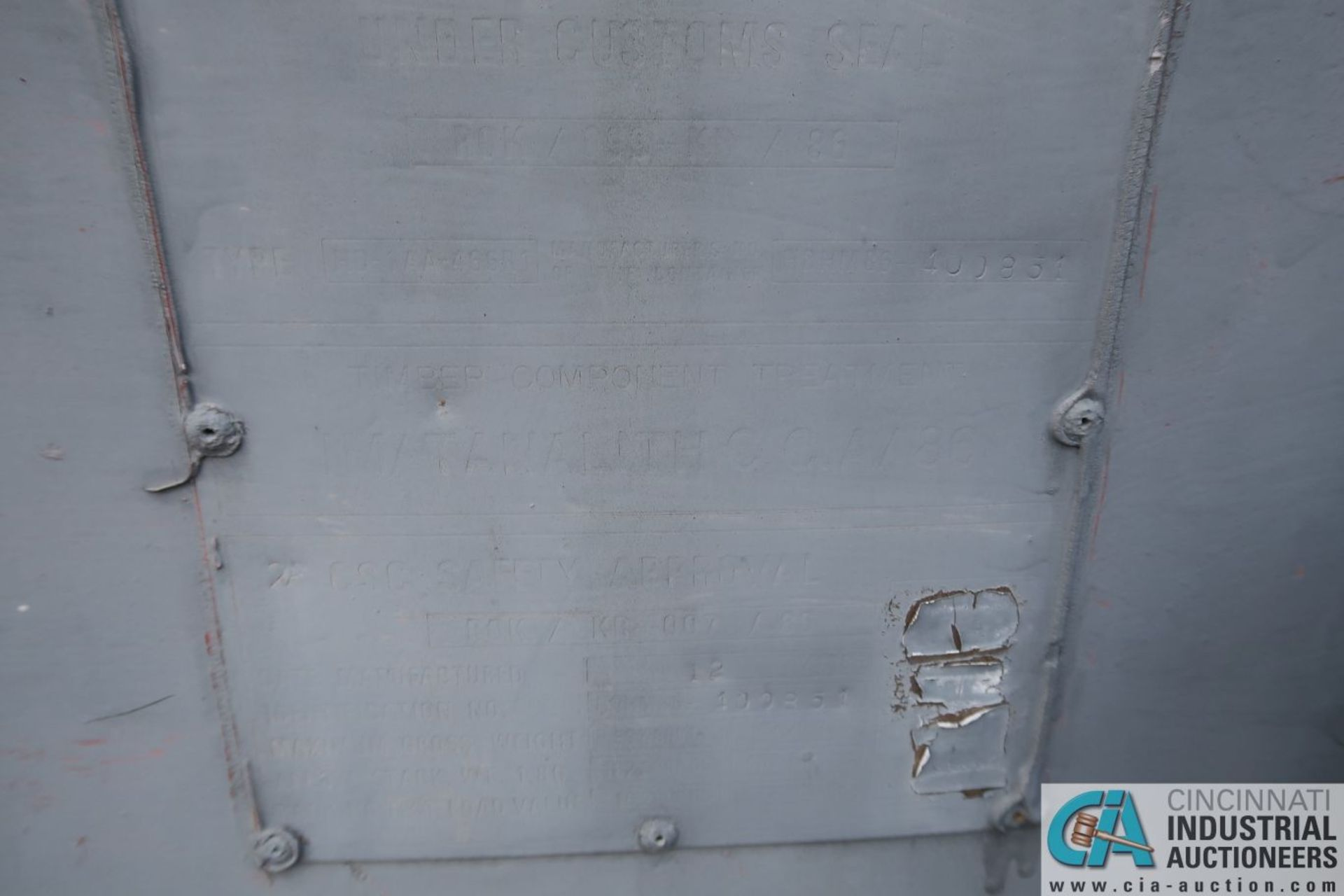 40' SHIPPING CONTAINER - Image 4 of 4