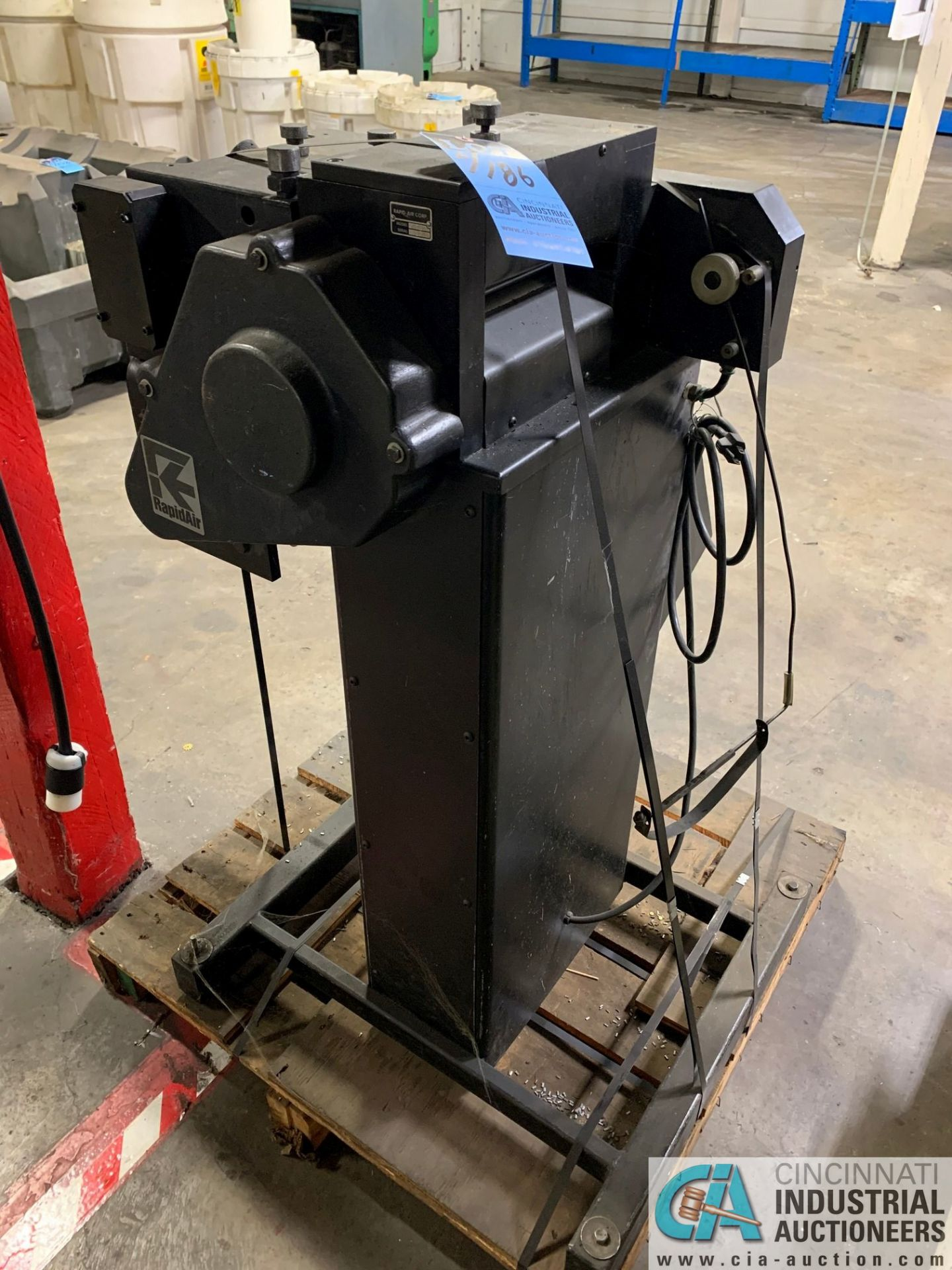 RAPID AIR FEED SYSTEM MODEL RS79AP DE UNCOILER; S/N 83383 AND MODEL SBX8 STRAIGHTENER - Image 7 of 10