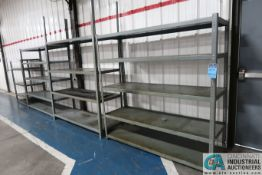 SECTIONS MISCELLANEOUS SIZE HEAVY DUTY BOLT TOGETHER SHELVING