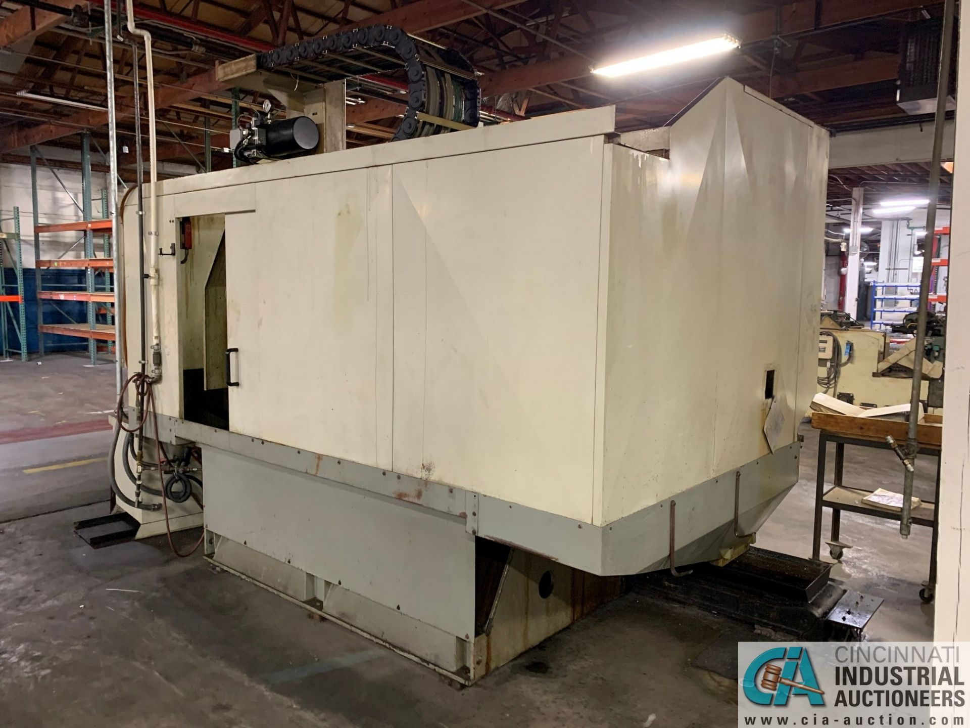 MONARCH UNISIGN TYPE UNIVERS 4 ZONALL 4 CNC VERTICAL MACHINING CENTER; S/N 99Z403, NO. 4293, - Image 13 of 13