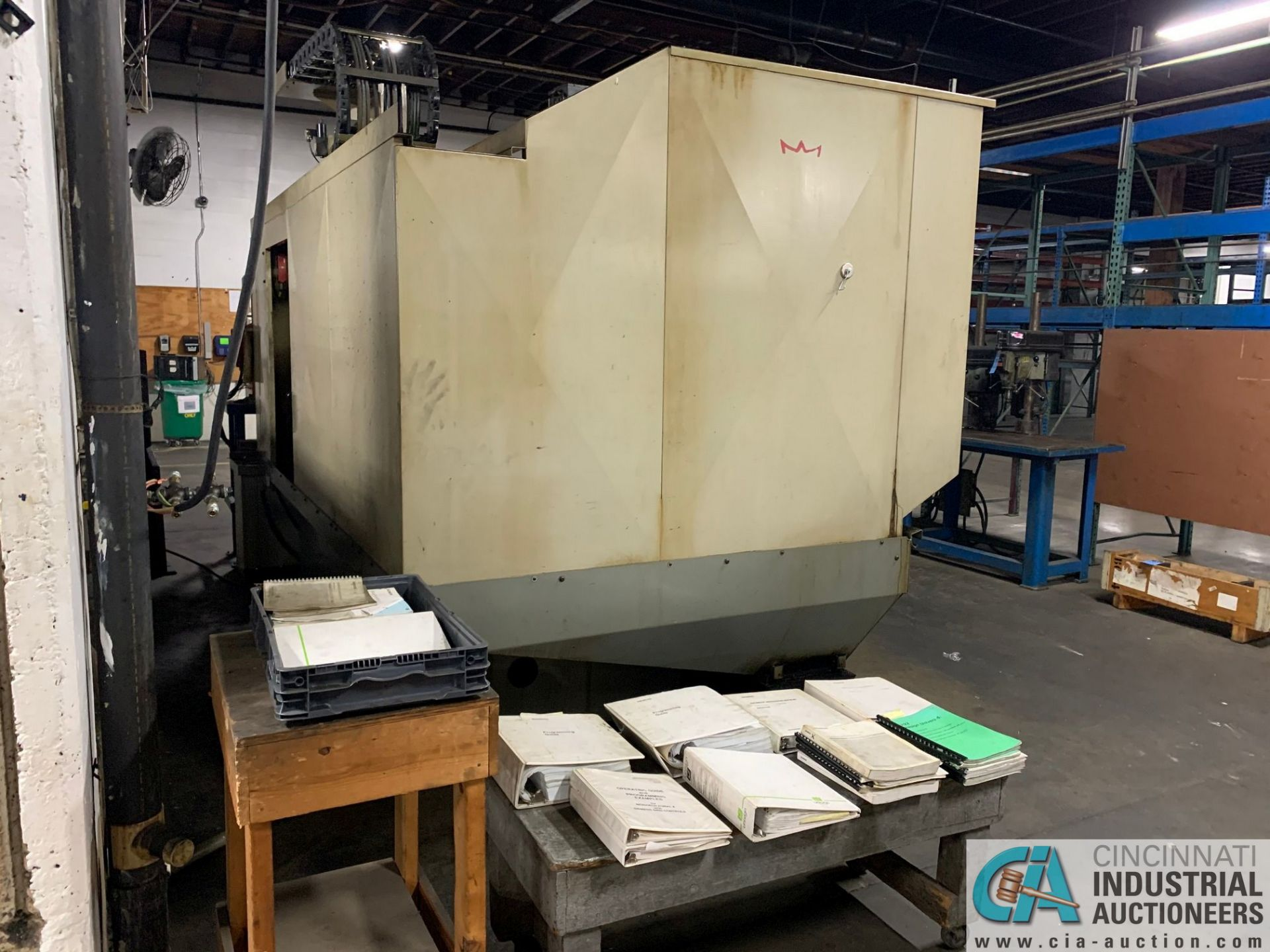 MONARCH UNISIGN TYPE UNIVERS 4 ZONALL 4 CNC VERTICAL MACHINING CENTER; S/N 99Z402, NO. 4292, - Image 9 of 11