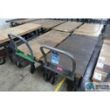 "24"" X 48"" X 28"" HIGH JAMCO STEEL FRAME HARDWOOD DECK CARTS"