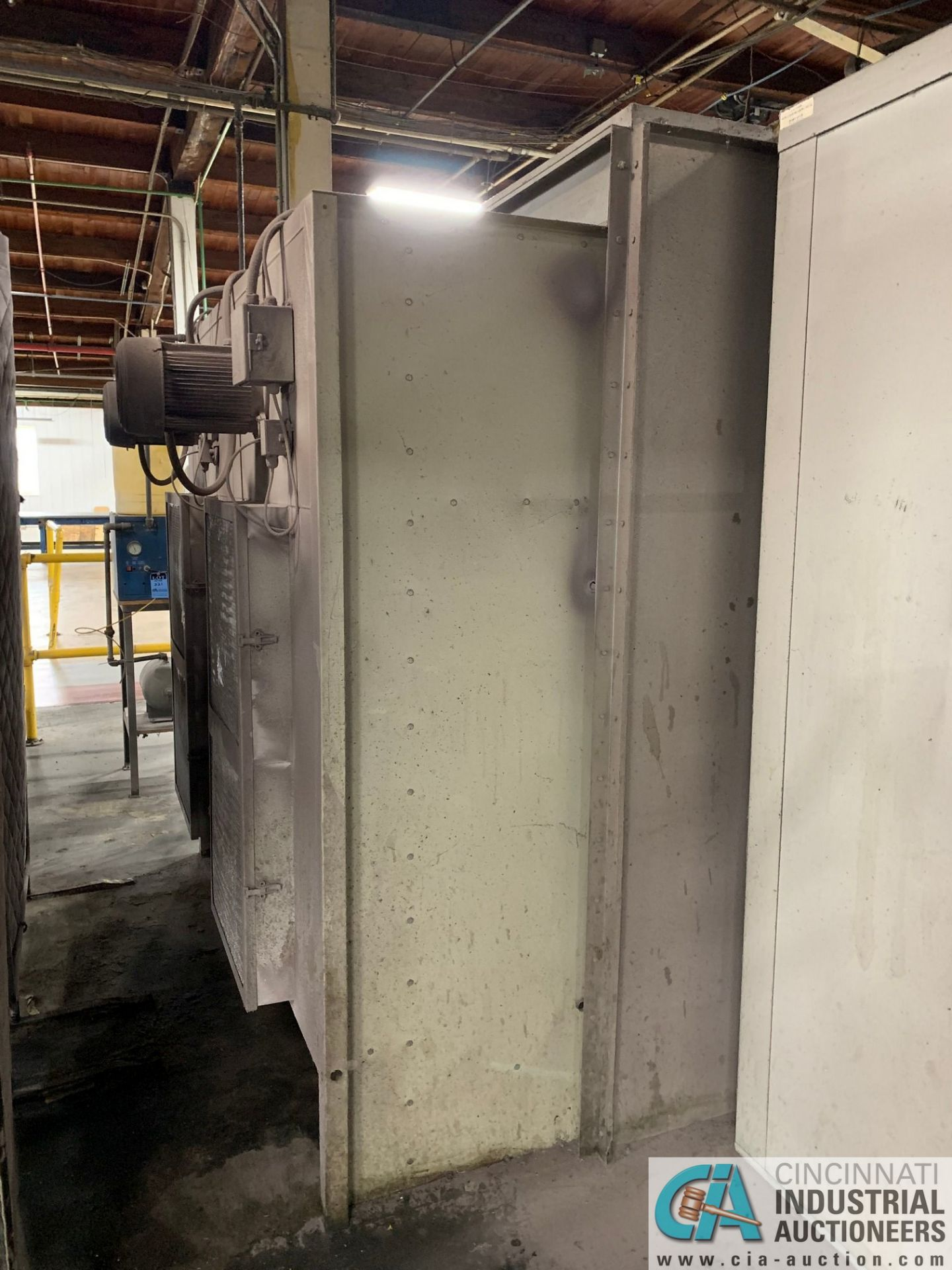 "8' X 6' X 90"" DEIMCO PWI-08-08-06-2-3K POWDER COAT BOOTH - Approx. $30,000 replacement cost - Image 8 of 11"