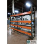"24"" X 10' X 8' HIGH HEAVY DUTY DIE RACK"