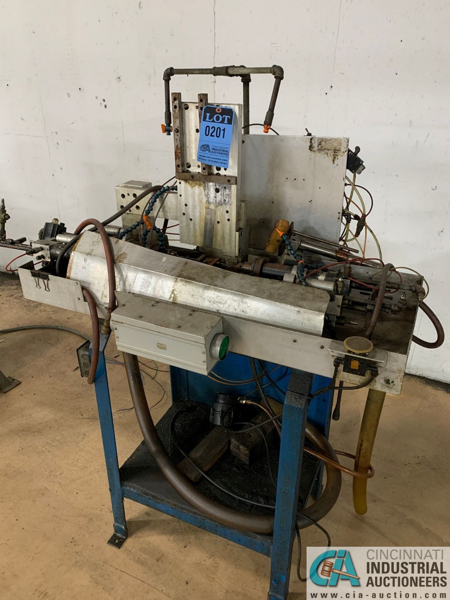 4-SPINDLE HORIZONTAL DRILLING MACHINE