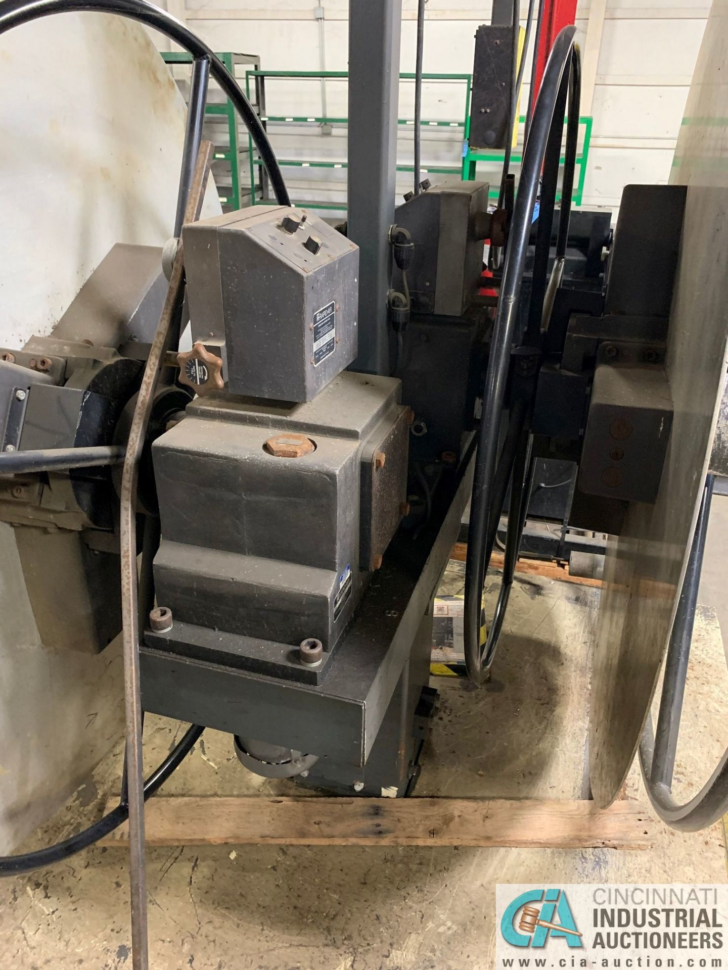 RAPID AIR FEED SYSTEM MODEL RS79AP DE UNCOILER; S/N 83383 AND MODEL SBX8 STRAIGHTENER - Image 3 of 10