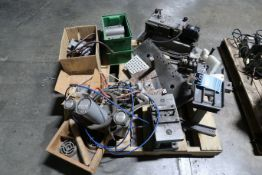 (LOT) MISC. SHOP BUILT MACHINE PARTS