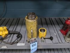20 AND 50 TON ENERPAC HYDRAULIC JACKS