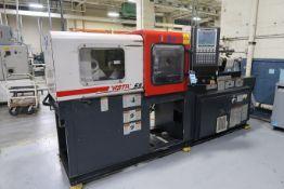 55-TON X 1.08-OZ. CINCINNATI MODEL VV55-108 PLASTIC INJECTION MOLDING MACHINE (2000)