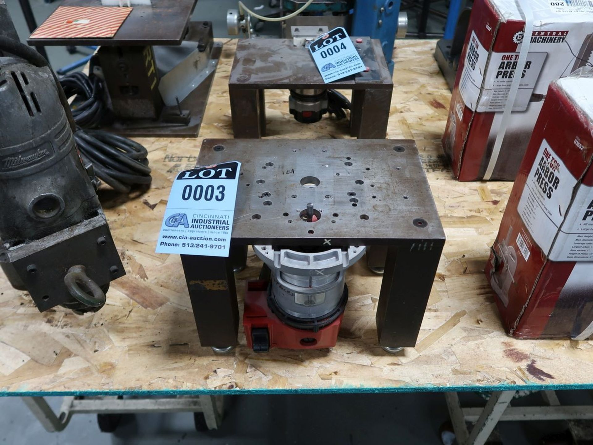 SHOP MADE ROUTER