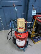 LINCOLN PNEUMATIC GREASE PUMP