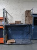 "SECTION 72"" X 24"" X 96"" EQUPTO STEEL SHELF"
