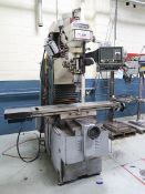 5-HP SWI TRAK DPM CNC VERTICAL BED TYPE MILLING MACHINE; S/N 95-2110-1995-00001, SWI PROTO TRAK