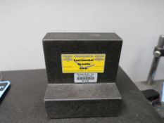 "4"" X 6"" X 6"" ANGLE GRANITE SURFACE PLATE"
