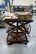 "20"" X 32"" HEAVY DUTY SCISSOR TYPE DIE CART"