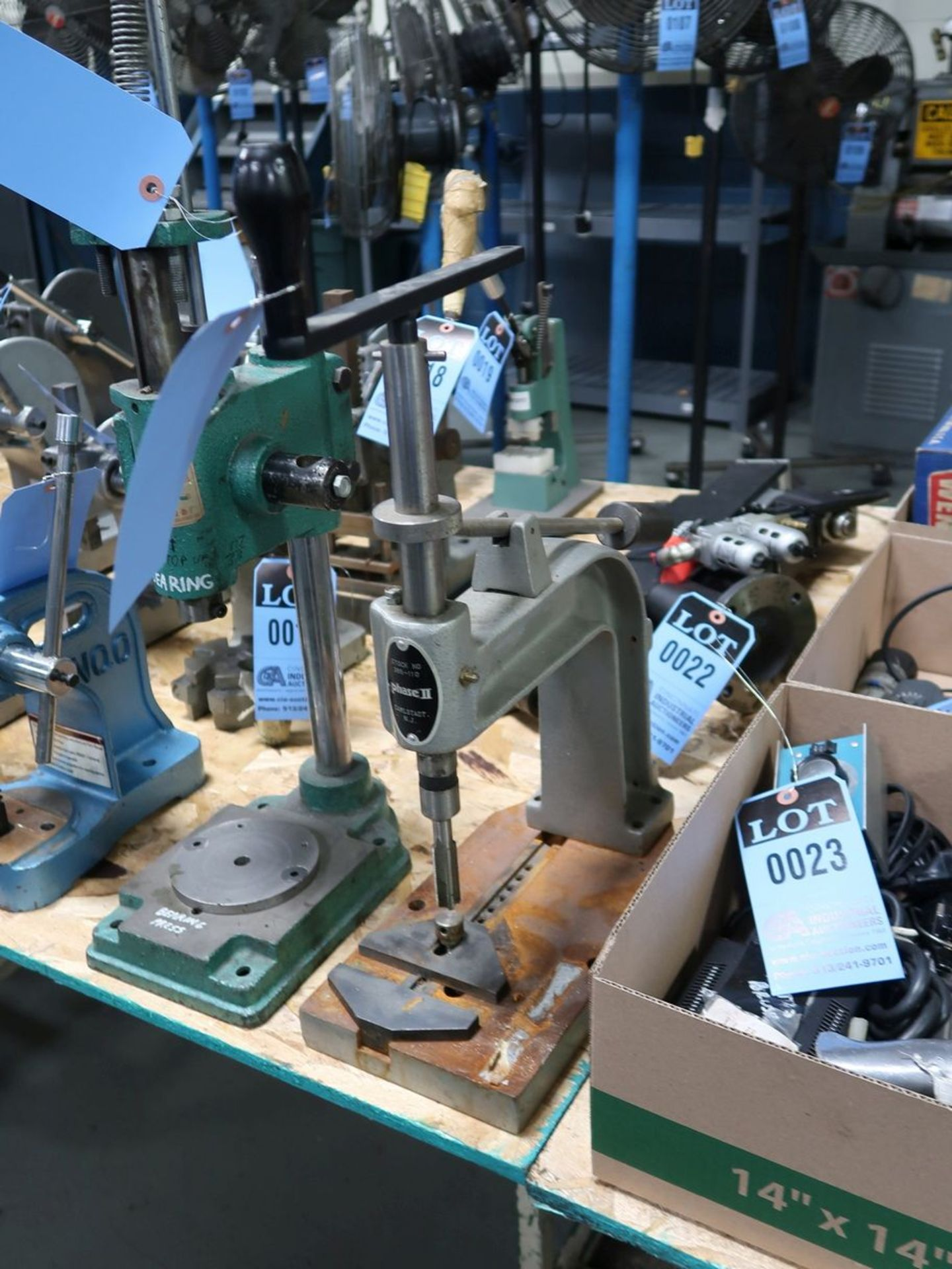 PHASE II MODEL 265-110 HAND TAPPER - Image 2 of 2