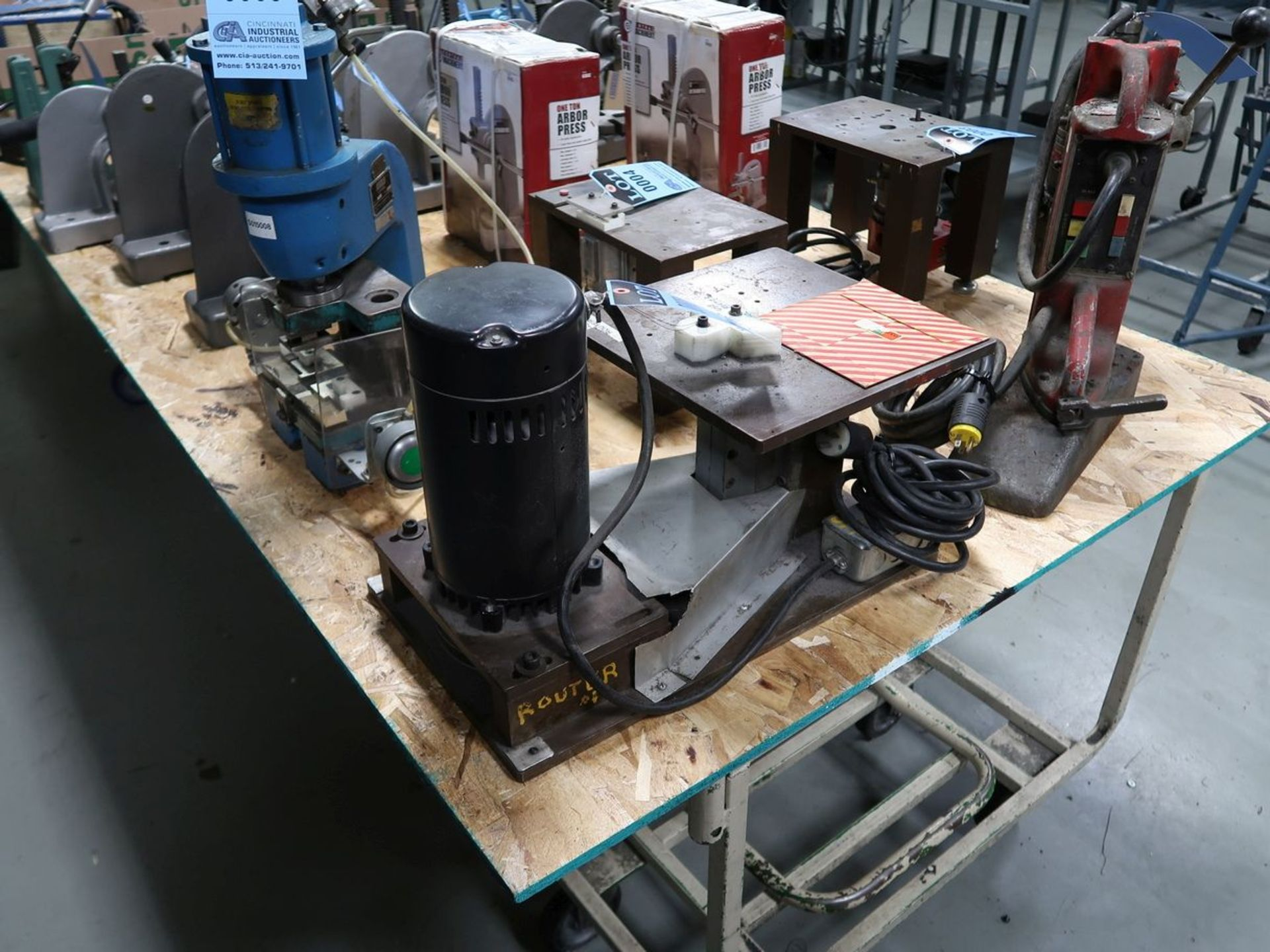 SHOP MADE ROUTER - Image 2 of 2