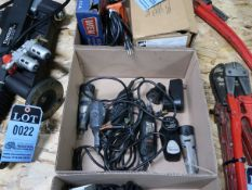 (LOT) ELECTRIC AND CORDLESS DREMEL GRINDERS