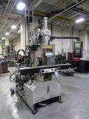40-TON X 2.9-OZ. AUTOJECTORS MODEL HS40-S SHUTTLE TABLE VERTICAL PLASTIC INJECTION MOLDING