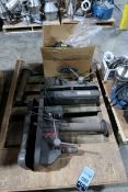 (LOT) (2) DRILL PRESS HEADS & ELECTRICAL PARTS