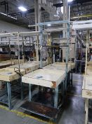 """30"""" X 34"""" LIGHTED WORK TABLES"""