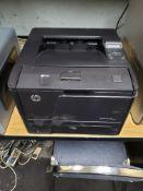 HP LASER JET PRO 400 PRINTER MODEL M401N