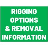 REMOVAL & RIGGING INFORMATION