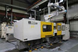 310-TON X 19-OZ. TOSHIBA MODEL ISGS310WV21-10 PLASTIC INJECTION MOLDING MACHINE (NEW 2006)