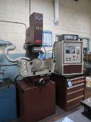 HANSVEDT BENCHMAN EDM; S/N TR12-00012, W/ M-PULSE MODEL 1025 CNC POWER SUPPLY; S/N AE14108