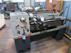 "13"" X 40"" CLAUSING COLCHESTER ENGINE LATHE; S/N S-55893-1955-TR17-0002, 8"" 3-JAW CHUCK, SPINDLE"