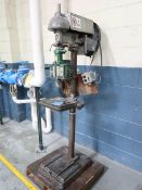 "15"" WALKER TURNER COMMANDER PEDESTAL DRILL PRESS; S/N 1147"