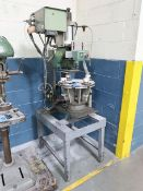 FRANKLIN MODEL 1020 HOT STAMPING MACHINE; S/N 23113, 4-STATION ROTARY TABLE