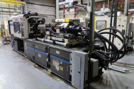 250-TON X 21-OZ. CINCINNATI MODEL VH250-21 PLASTIC INJECTION MOLDING MACHINE (1995)