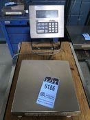 """2,500 LB. GSE MODEL 570 DIGITAL PLATFORM SCALE, 12"""" X 12"""" PLATFORM"""