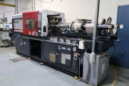 120-TON X 7.58-OZ. FERROMATIK MILACRON MODEL VV120-7.58 PLASTIC INJECTION MOLDING MACHINE (2000)