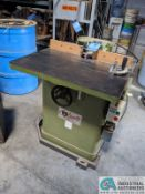 "3-HP GRIZZLY SHAPER; S/N N/A, 3"" SPINDLE TRAVEL (8635 East Ave., Mentor, OH 44060 - John Magnasum:"