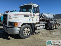 1993 MACK MODEL CH613 TANDEM AXLE LONG FRAME ROAD TRACTOR; VIN # 1M2AA14Y7PW020479, 549,051 MILES