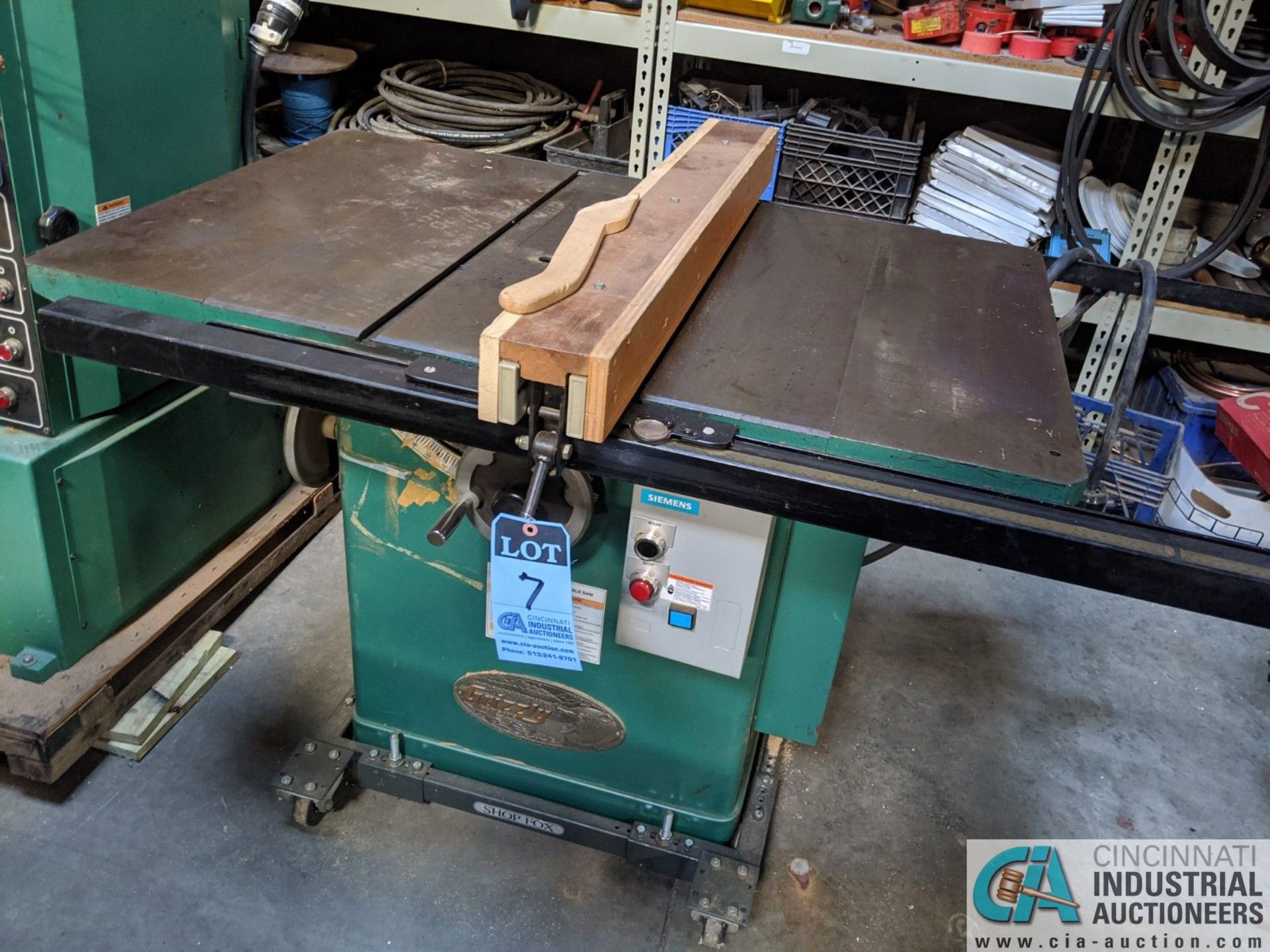 """12"""" GRIZZLY MODEL G5959 TABLE SAW; S/N 20431, 30"""" X 48"""" TABLE, RIP RENCE (8635 East Ave., Mentor, OH - Image 2 of 6"""