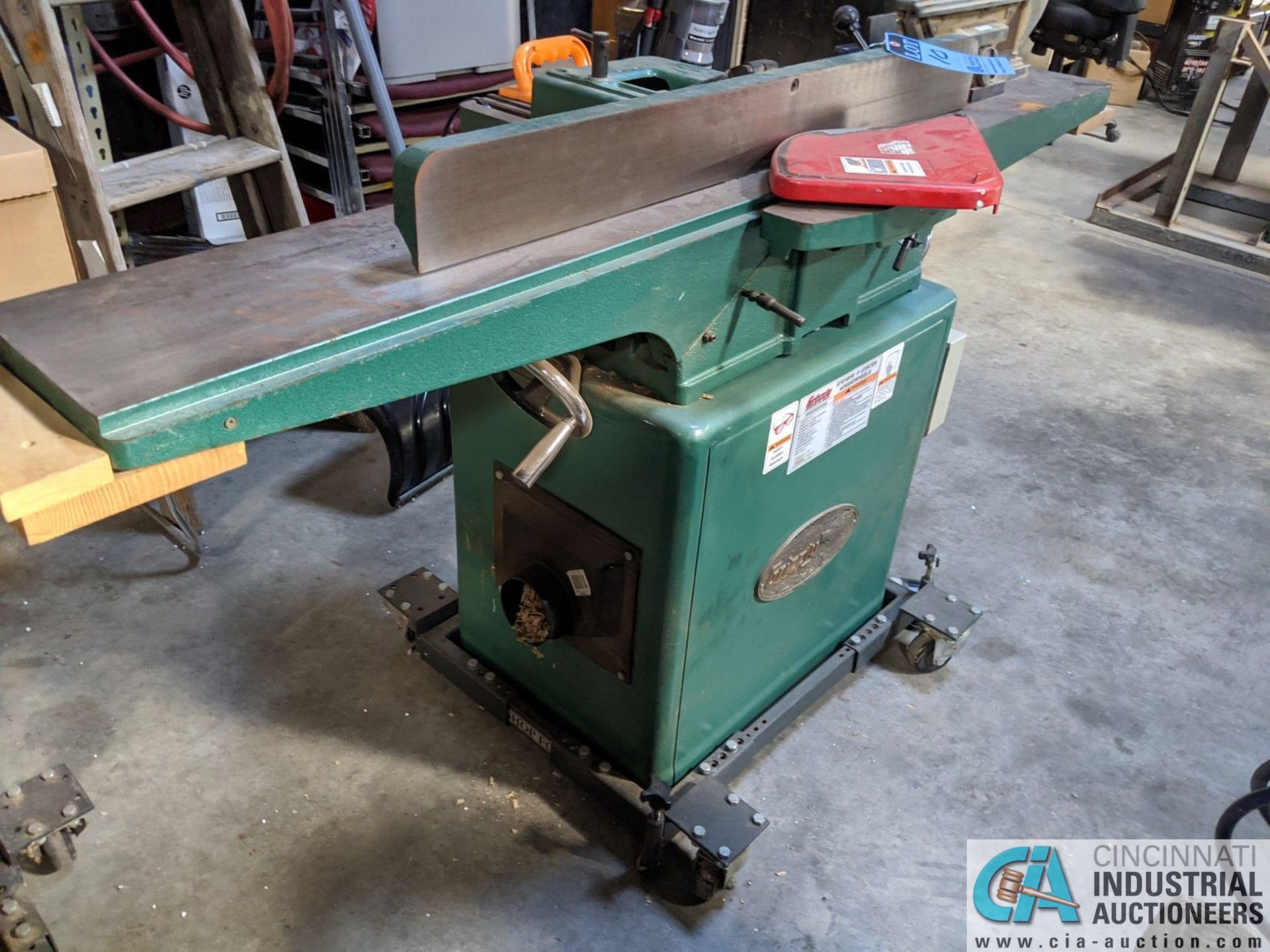 """8"""" GRIZZLY MODEL G1018HW JOINTER; S/N 6388108, 9"""" X 65"""" TABLE (8635 East Ave., Mentor, OH 44060 - - Image 3 of 7"""
