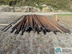 """JOINTS 2"""" X 35' WELL PIPE (220 Blackbrook Rd., Painsville, OH 44077 - Greg Papis: 440-537-5127)"""