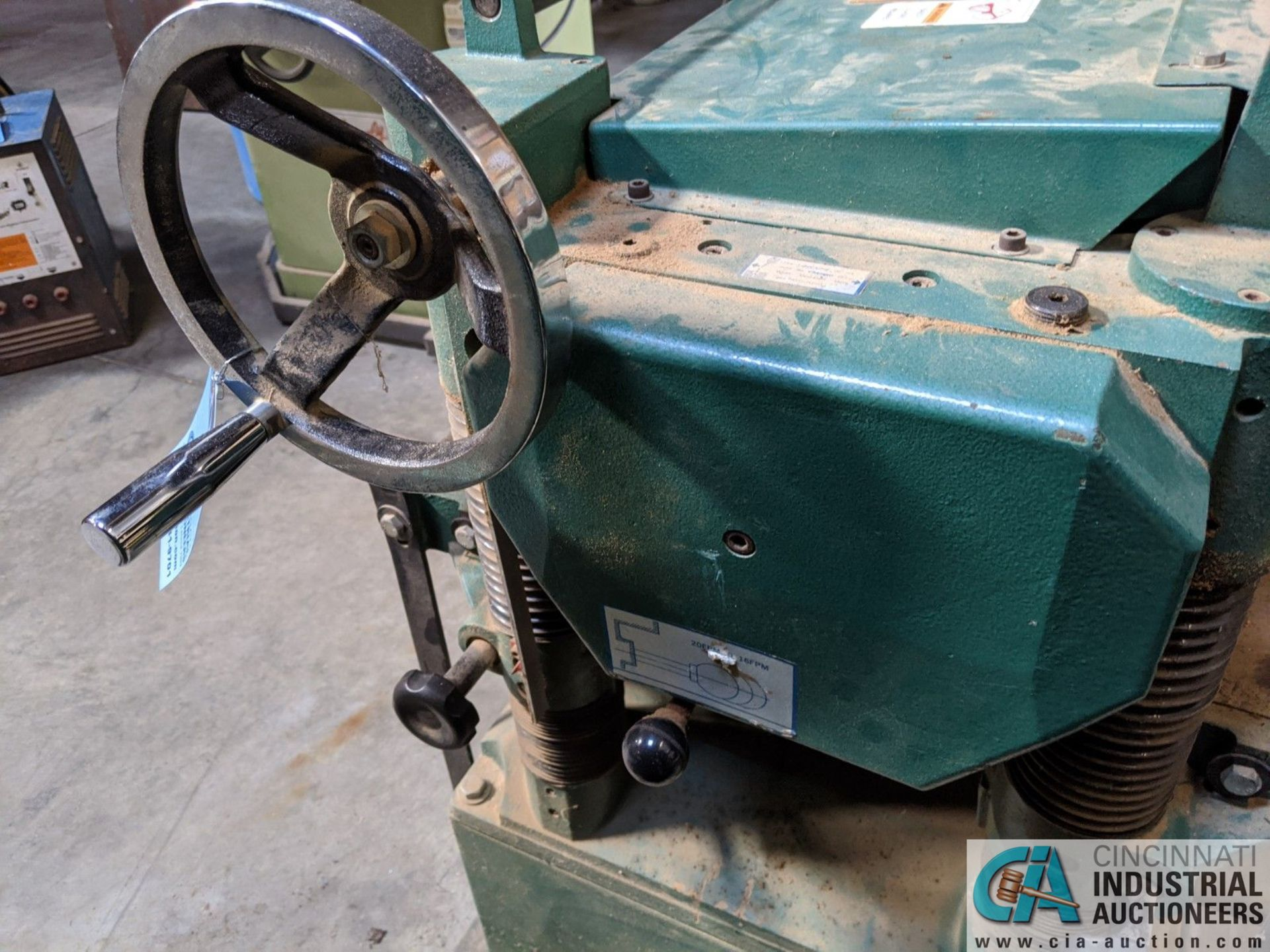 """20"""" GRIZZLY MODEL G1033 PLANER; S/N 636874, 16 - 20 FPM (8635 East Ave., Mentor, OH 44060 - John - Image 5 of 6"""