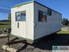 8' X 20' OFFICE TRAILER (220 Blackbrook Rd., Painsville, OH 44077 - Greg Papis: 440-537-5127)