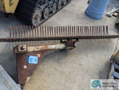 """96"""" WIDE 3-PT HITCH RAKE ATTACHMENT (220 Blackbrook Rd., Painsville, OH 44077 - Greg Papis: 440-"""