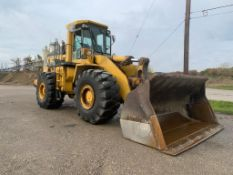 1996 WA500 SOLID RUBBER TIRE LOADER; 25,000 HOURS, S/N A61111 **LOCATED AT 16405 KINSMAN RD